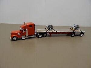 Tonkin Promotex Truck Trailer & Steel Coil Load  HO Scale  1/87 Scale