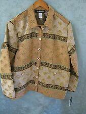 NWT Sag Harbor Size 18 Tapestry Jacket Dressy $72