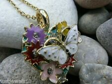 Butterfly Designer Jewellery Xmas Present unusual gift for her Valentines Day