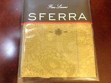 """Sferra Dahlia Boudoir Sham Pistachio NIP Italy 100% Egyptian Cotton 12"""" x 16"""""""
