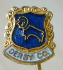 DERBY COUNTY Vintage RAMS Badge Stick pin fitting 11mm x 13mm Dot after Co