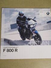 CATALOGUE MOTO : BMW : F 800 R   08/2010