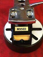 Shure M95ED Hi-Track - Phono Cartridge - New headshell, stylus - functional