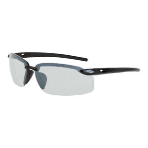 Crossfire ES5 Indoor/Outdoor Black Safety Glasses Sunglasses Shooting Z87+ 29215
