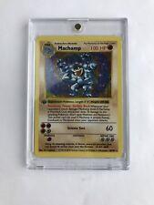 Pokemon Machamp 1st Edition Ultra Rare