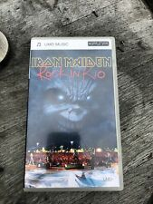 Iron Maiden Rock In Rio Umd Music For PSP Sony Rare