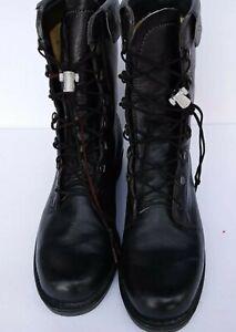 Vintage 1977 Addison Shoe Company BiltRite Combat Boots Men's Size 12r Black