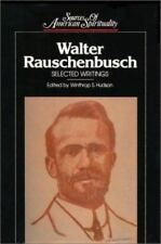 Walter Rauschenbusch: Selected Writings (Sources of American Spirituality)