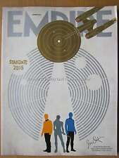 Empire August 2016 Star Trek Beyond Jason Bourne Christopher Walken Boutella