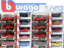 BBurago Various 1:43 Scale Diecast Children's Toy Car's New Gift CHOOSE YOUR CAR