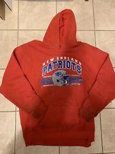 Vintage  New England Patriots NFL Gridiron Classic Hoodie Sweatshirt Men XL