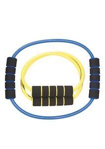 💪🏽Golds Gym Short Medium Resistance Tube Band Agility Build Strength Tone 2H
