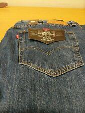 Levi's 501 Original Blue Jeans W42 L34 Mens New Ref K2