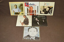CLAUDE DUBOIS 6 LP RECORD ALBUM LOT COLLECTION Tel Quel/Implosif/Sortie/Cadeau+