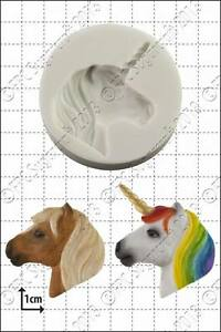 Silicone mould Unicorn Head | Food Use FPC Sugarcraft FREE UK shipping!