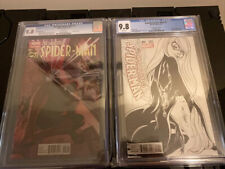 Amazing Spider-Man 1 & 4 CGC 9.8 MT Ross & Campbell Sketch Variant 1st Silk🔥