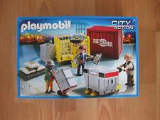 Set 5259 Playmobil CARGO-Team mit Ladegut