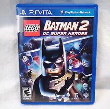LEGO BATMAN 2:  DC SUPER HEROES - PSVITA   *** NICE ***