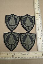 Lot of 4 Maine Army National Guard Subdued Unit Patches