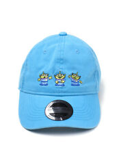 OFFICIAL DISNEY/ PIXAR - TOY STORY ALIENS BLUE STRAPBACK DAD HAT CAP (NEW)
