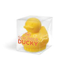 New Yellow Duck Scrubber Ducky Bath Brush