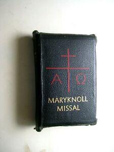 MARYKNOLL MISSAL: Daily Missal Of The Mystical Body (1961) Maryknoll Fathers