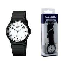 Orologio CASIO Vintage MQ-24-7BLL Silicone Nero Bianco Classico Uomo Donna lac