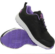 New Ladies Maxsteel Safety Lightweight Steel Toe Cap Work Trainers Shoes Sizes