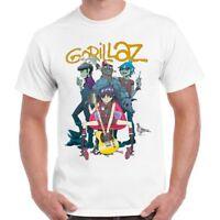 Gorillaz Band Alternative Hip Hop Rock Brit Band Blur Albarn Retro T shirt 74