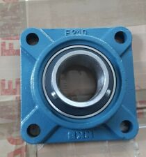 NKB  F210 SELF LUBE CAST IRON FOUR BOLT SQUARE FLANGE BEARING UNIT 50mm ID