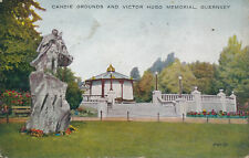PC68964 Candie Grounds and Victor Hugo Memorial. Guernsey. Valentine. Valesque.