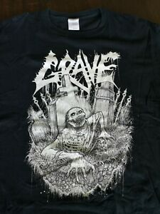 "Grave ""Old school death fucking metal"" shirt"
