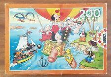 Popeye The Sailer Man Jigsaw Puzzle 200 pcs - Vintage Cartoon Puzzle 40x28cm