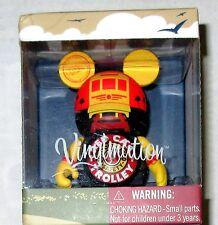 Disney Vinylmation California Red Car Trolley Mickey Mouse Vinyl Figure Nib New
