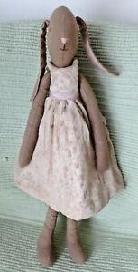 Maileg Mega Dusky Pink Bunny Girl  45cm