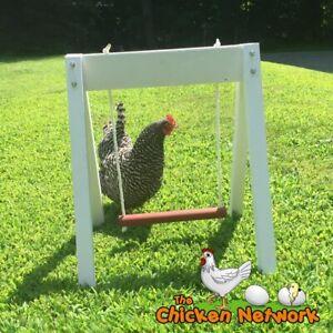 Amish Chicken Swing Set