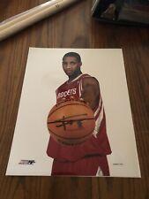 Tracy McGrady Houston Rockets Autographed Signed 8x10 Photograph