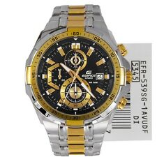 Casio Edifice Stopwatch Chronograph Multi-Colour Dial Men's Watch - EFR-539SG-1A