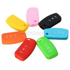 Silicone Remote Key Fob Case Cover For Ford Focus C-Max Fiesta Mondeo Kuga MK4