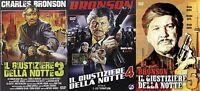 Charles Bronson: Il Giustiziere Della Notte 3 - 4 - 5 (3 DVD)