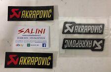 Serie Adesivi Adesivo Akrapovic ( 4 Pezzi )