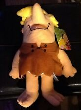"""BARNEY RUBBLE Brand New Flintstones Licensed Plush NWT With Tags 13"""" Sugar Loaf"""