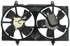 Dual Radiator Condenser Fan For Nissan Altima 02-06 Maxima 04-08 2.5 L4 3.5 V6