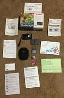 Canon PowerShot S50 5.0 MP Digital Camera  Battery Charger Three Cards