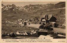 CPA Vallees d'ANDORRE Pas de la Casa. Frontiere franco-andorrane (375922)