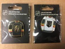 Las Vegas Golden Knights Home & Away Jersey Hockey Pin  !!!!  NEW