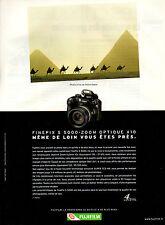 Publicité 2003  Appareil photo FINEPIX S 5000-ZOOM OPTIQUE X10  FUJIFILM