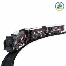 Battery Operated Train Set with Light Toy for Kids