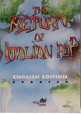 The Return of Italian Pop English edition Italian prog book