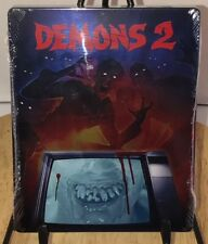 DEMONS 2 Steelbook Limited Edition Blu-ray SYNAPSE New & Facotry Sealed Zombies